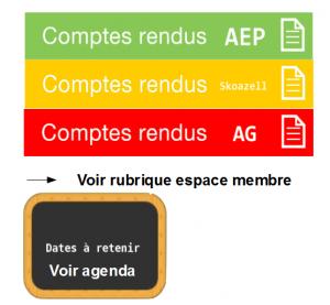 cadre info actualités
